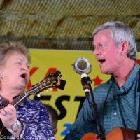 Lorraine Jordan and Tommy Long at the 2018 Palatka Bluegrass Festival - photo © Bill Warren