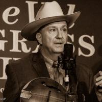 David Davis at the 2018 Joe Val Bluegrass Festival - photo © Tara Linhardt