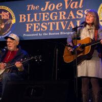 Eddie and Martha Adcock at the 2018 Joe Val Bluegrass Festival - photo © Tara Linhardt