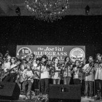 Kids Academy on stage at the 2018 Joe Val Bluegrass Festival - photo © Tara Linhardt