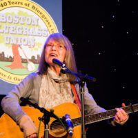 Martha Adcock at the 2018 Joe Val Bluegrass Festival - photo © Tara Linhardt