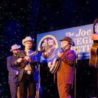 Po' Ramblin' Boys with Laura Orshaw at the 2018 Joe Val Bluegrass Festival - photo © Tara Linhardt