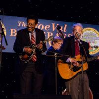 The Reunion Band at the 2018 Joe Val Bluegrass Festival - photo © Tara Linhardt