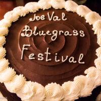 After show party cake at the 2018 Joe Val Bluegrass Festival - photo © Tara Linhardt