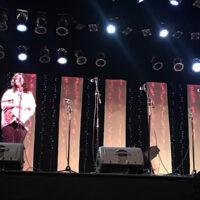 MC Annette Grady at the Ernie Thacker benefit in Greenville, TN (2/23/18) - photo by Melanie Wilson