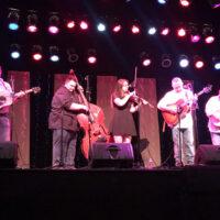 Wilson Banjo Co. at the Ernie Thacker benefit in Greenville, TN (2/23/18) - photo by Melanie Wilson