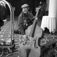 Bring that bass at the 2018 DC Bluegrass Festival - photo by Jeromie Stephens