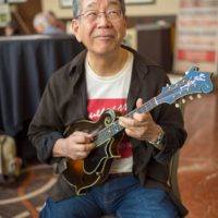 Akira Otsuka at the 2018 DC Bluegrass Festival - photo by Jeromie Stephens