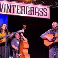 Amanda Smith, Kyle Perkins, and Kenny Smith at Wintergrass 2018 - photo © Tara Linhardt