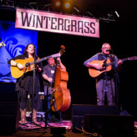 Kenny & Amanda Smith Band at Wintergrass 2018 - photo © Tara Linhardt