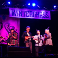 Laurie Lewis & The Right Hands with special guests at Wintergrass 2018 - photo © Tara Linhardt