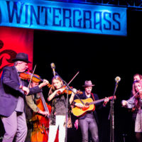 O'Connor Band at Wintergrass 2018 - photo © Tara Linhardt