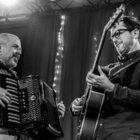 Rob Curt and Clay Ross with Matuto at Wintergrass 2018 - photo © Tara Linhardt