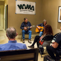 WAMA showcase at Wintergrass 2018 - photo © Tara Linhardt