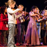 Youth Academy at Wintergrass 2018 - photo © Tara Linhardt