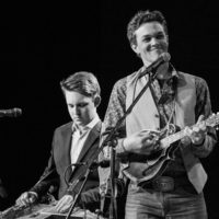 Michael Kilby and Zach Top with North Country Bluegrass at Wintergrass 2018 - photo © Tara Linhardt