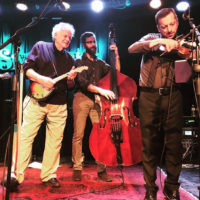 Peter Rowan with The Travelin' McCourys at the Sweetwater Music Hall in Mill Valley, CA (March 2018) - photo by Dorothy St. Claire