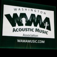 WAMA banner at Wintergrass 2018 - photo © Tara Linhardt