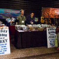 Get yer jerky at Wintergrass 2018 - photo © Tara Linhardt
