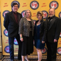 Valerie Smith & Liberty Pike at the 2018 Independent Music Awards (March 31, 2018)