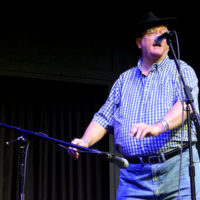 Walter Robertson at the 2018 Georgia String Band Festival - photo by Bobby Moore