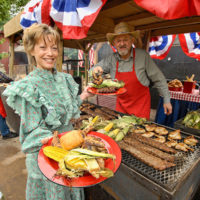 Good eats at Bluegrass & BBQ - photo by Martha Bohner