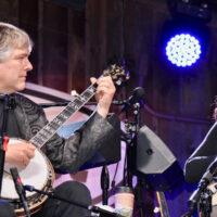 Béla Fleck & Abigail Washburn @Merlefest 2018 Friday, April 27th Watson Stage - Photo by Alisa B. Cherry