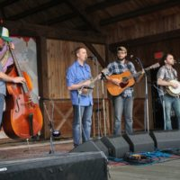 Mosely Brothers at the May 2018 Gettysburg Bluegrass Festival - photo  by Frank Baker