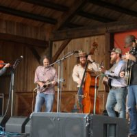 Songs From The Road Band at the May 2018 Gettysburg Bluegrass Festival - photo by Frank Baker