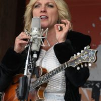 Rhonda Vincent at the May 2018 Gettysburg Bluegrass Festival - photo by Frank Baker