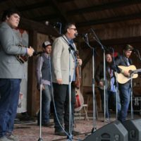 Volume Five at the May 2018 Gettysburg Bluegrass Festival - photo  by Frank Baker