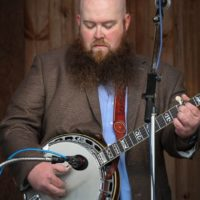 Patton Wages with Volume Five at the May 2018 Gettysburg Bluegrass Festival - photo  by Frank Baker