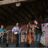 Sideline at the May 2018 Gettysburg Bluegrass Festival - photo  by Frank Baker