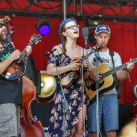 DelFest Academy winners at DelFest 2018 - photo by Good Foot Media