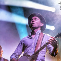 Chris Pandolfi with Infamous Stringdusters at DelFest 2018 - photo by Good Foot Media