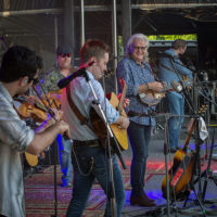 Ricky Skaggs & Kentucky Thunder at DelFest 2018 - photo by Mike McGreevy