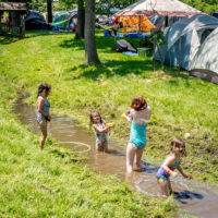 River babies at DelFest 2018 - photo by Mike McGreevy