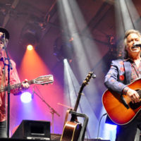 Buddy Miller and Jim Lauderdale @MerleFest 2018, Saturday, April 28th on Watson Stage - Photo by Alisa B. Cherry