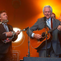 Ronnie and Del McCoury at DelFest 2018 - photo by Stuart Dahne
