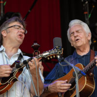 Ronnie and Del McCoury at DelFest 2018 - photo by Will Rawls