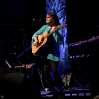 Dale Ann Bradley performs at her 2018 induction to the Kentucky Music Hall Of Fame