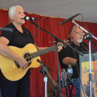 Donna Bopp at the 2018 Armuchee Bluegrass Festival - photo by Bobby Moore