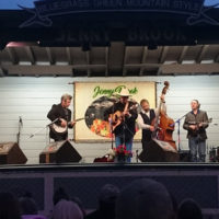 The Gibson Brothers at the 2018 Jenny Brook Bluegrass Festival - photo by Dale Cahill