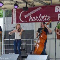 Bill Bynum & Co at the 2018 Charlotte Bluegrass Festival - photo © Bill Warren