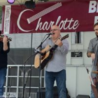 Jim Hurst Trio at the 2018 Charlotte Bluegrass Festival - photo © Bill Warren