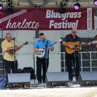 Harbourtown at the 2018 Charlotte Bluegrass Festival - photo © Bill Warren