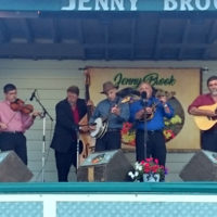 Bob Amos & Catamount Crossing at the 2018 Jenny Brook Bluegrass Festival - photo by Dale Cahill