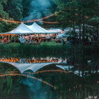 By the lake at Rooster Walk 2018 - photo © Gina Elliott Proulx