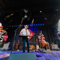 Jerry Douglas Band at Rooster Walk 2018 - photo © Gina Elliott Proulx