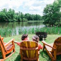 Lakeside at Rooster Walk 2018 - photo © Gina Elliott Proulx